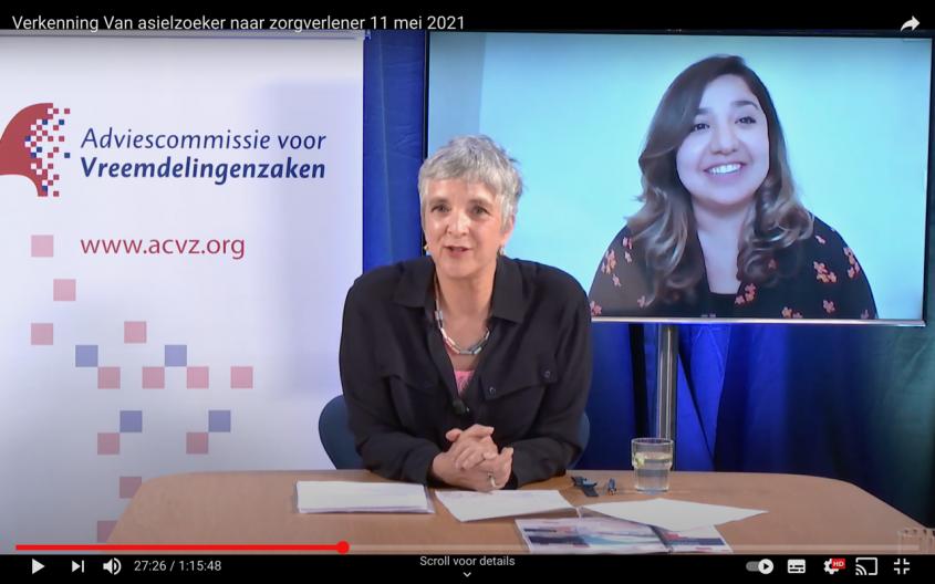 Presentatie 'Van asielmigrant naar zorgverlener'